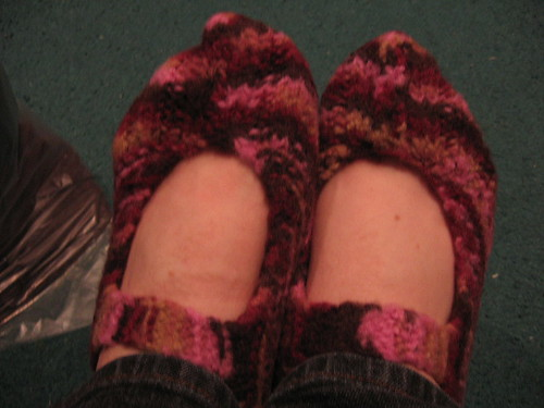 pocketbook slippers