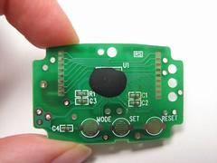 Pedometer take-apart