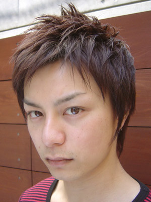 Japanese men's hairstyle