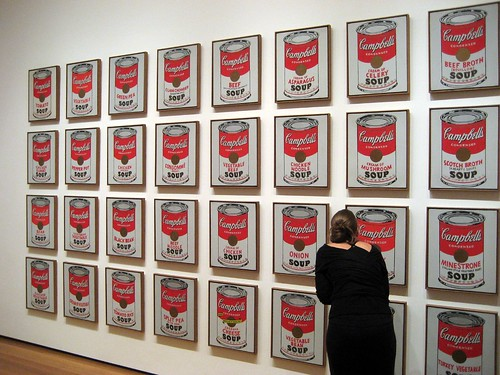 Warhol, Soup cans - MoMA