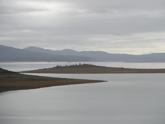 Island? (bcshort) Tags: lake water corner highlands power great central hydro tasmania flume tods generation penstock 20080321 tasgallery