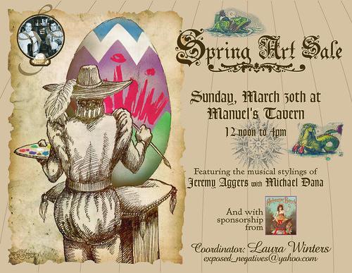 Manuel's Tavern Spring Art Show