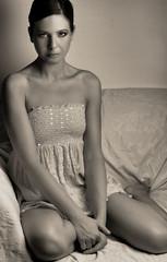 angel (Orsi Gyre) Tags: portrait blakandwhite me angel thelittleprincess