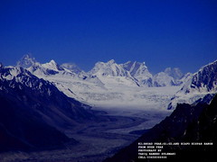 mysterious view of k2, broad peak, chogholiza ,mashabroom peak, and biafo(68 KM) hispar(56KM) range , snow lake ,and 124 km long snow range biggest range  in the world arter the poles (TARIQ HAMEED SULEMANI) Tags: pakistan mountains nature landscape searchthebest north culture glaciers sensational nagar naturesfinest supershot golddragon northpakistan mountainsofpakistan theunforgettablepictures worldwidelandscapes treeofhonor tariqhameedsulemani