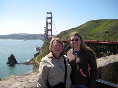 Mom and I, Golden Gate Bridge