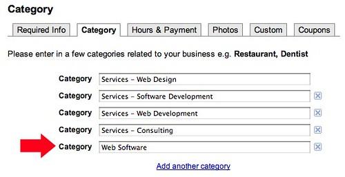 Google Opens Business Categories
