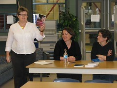 Kelly Berry introduces Shaena and Gillian at Argyle Secondary