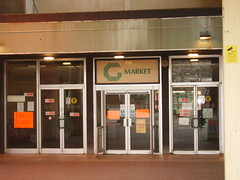 entrance to Gateshead Indoor Market