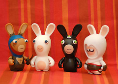 Rabbids! (Sergey Galyonkin) Tags: toys miniatures figurines ubisoft princeofpersia splintercell raymanravingrabbids assassinscreed rabbids rabbid ubidays