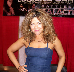 Luciana Carro at Motor City Comic Con (by Hadoland)