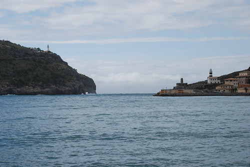 The two lighthouses