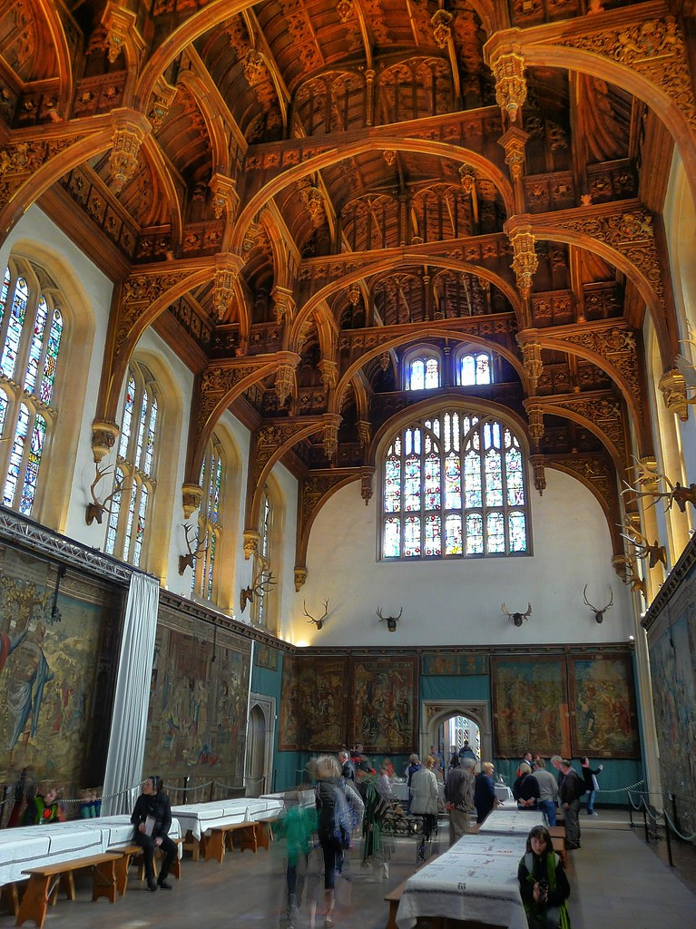 King Henry Vlll's Great Hall, Hampton Court Palace