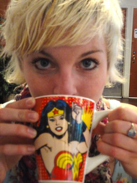 Joy's Wonder Woman Mug