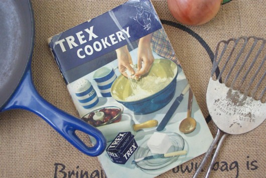 Trex Cookery book from 1954