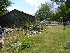 Arrivée aux bergeries de Purtetu : résidence secondaire pour les familles des anciens bergers