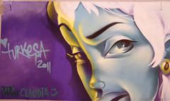 Live painting (TURKESA (old profile)) Tags: girls toxic water girl festival finland painting skull graffiti turku drawing tentacles 2011 eurocultured turkesa rabodiga turquoiseoctopus