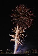 Felicidades Bego (Marin2009) Tags: pontevedra fuegosartificiales fuegosdelaperegrina