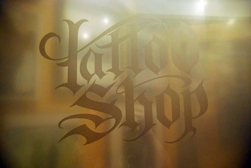 This is an article on the Tattoo Shop. Tucked away in the artist district of