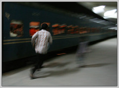 Life is a Run [..Dhaka, Bangladesh..] (Catch the dream) Tags: people motion blur station night train moving bongo rail railway run rush catch dhaka bengal bangladesh bangla kamlapur bengali bangladeshi bangali komlapur catchthedream gettyimagesbangladeshq2