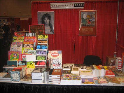 Fantagraphics Books, Wordstock 2007, Portland OR