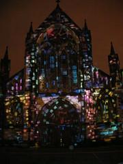 Radiance, International Festival of Light, Glasgow, Scotland (AJoStone) Tags: light festival scotland cathedral glasgow radiance richemont xavierderichemont internationalfestivaloflight taleoftreecity
