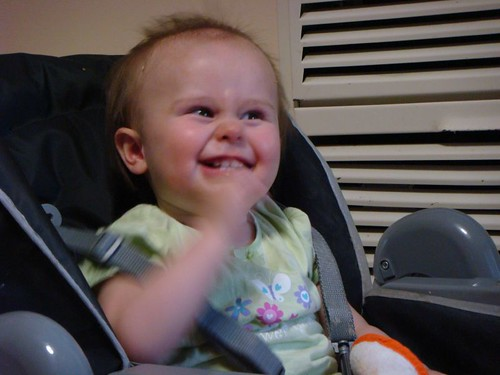 Kayla, 13 months.