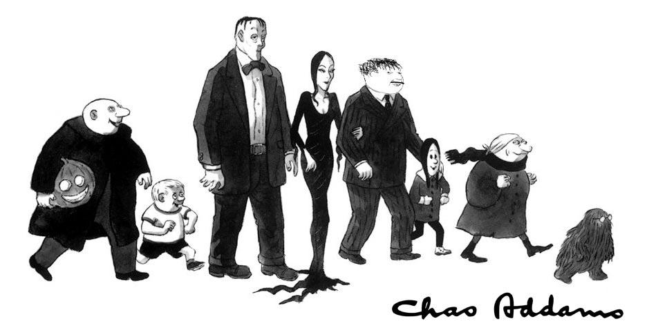 семейка петровых комикс