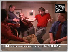 Stranger Than Fiction LIVE improv comedy