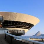 MAC - Museu de Arte Contemporânea de Niterói - Oscar Niemeyer 100 anos - Niterói  Rio de Janeiro - Brasil - natal, reveillon e carnaval no Rio - nada igual
