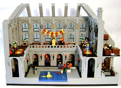 Medieval Bathhouse (DARKspawn) Tags: house castle bath lego dio diorama bathhouse