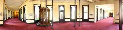 Tampa University lobby corridor, Tampa, Florida, USA