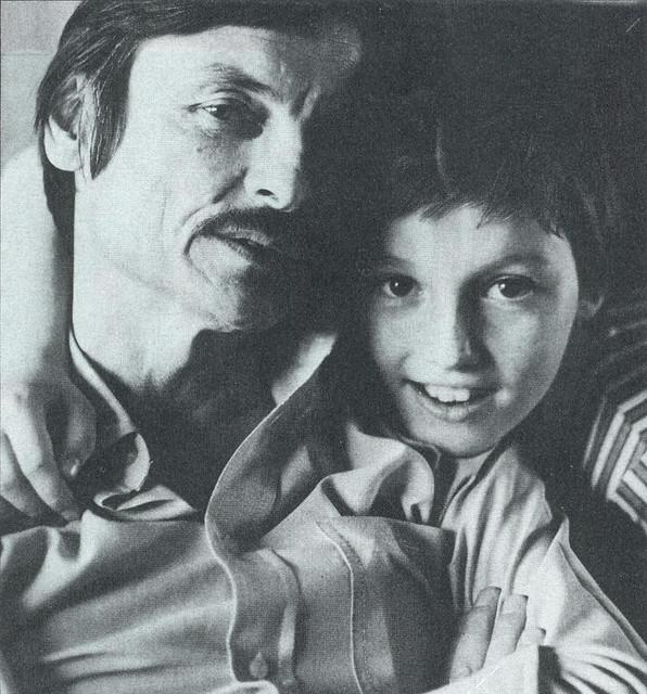 Andrei Tarkovsky and son