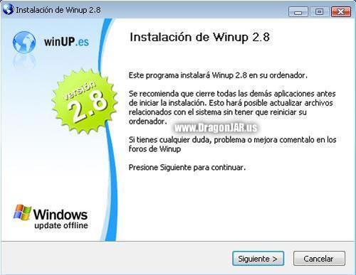 Descargar WinUp 2.8 gratis