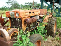 Rust In Peace (Wha'ppen) Tags: tractor hawaii rust farm kauai kubota vanishingbeauty