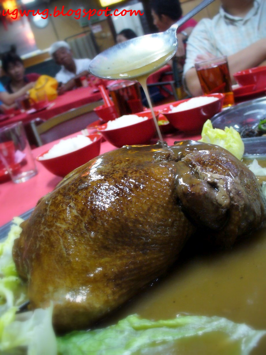 Braised Stuffed Duck