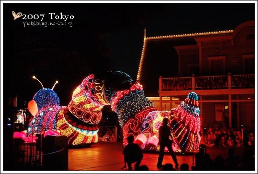 [2007 東京見]Day4~ 迪士尼-夢之光大遊行