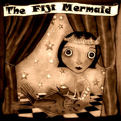 Side Show Follies:The Fiji Mermaid! Sepia