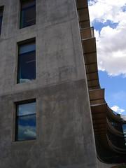 down town okc (tiffanysw1983) Tags: reflection building fedral