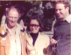 "Penny and David with Prime Minister Trudeau, summer of 1977, Harrington Lake • <a style=""font-size:0.8em;"" href=""http://www.flickr.com/photos/21584185@N07/2199180233/"" target=""_blank"">View on Flickr</a>"