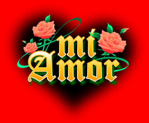 amor logo. Mi Amor Logo
