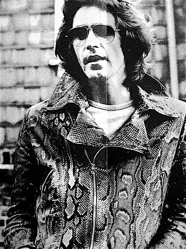 Ossie snakeskin jacket