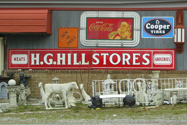 Antique Store - Tucker's Crossroads, TN