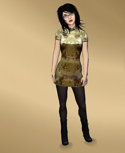 House of Zen dress with boots