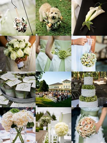 2231733682 bd48a247a0 141 ideias de casamento verde e branco