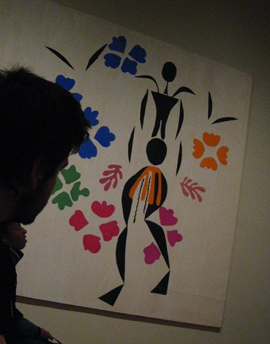 Matisse paper cutout art at the National Gallery
