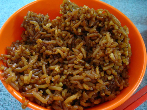 Gravy-Coated Rice.JPG