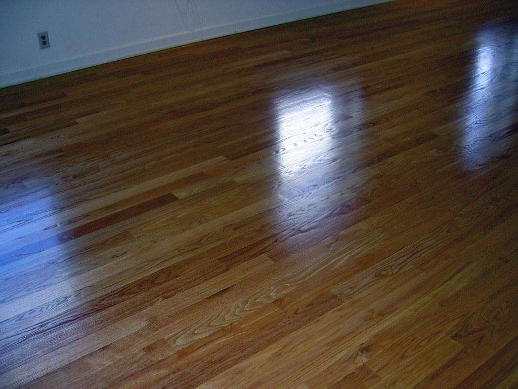 Refinished White Oak Floors with Cork Subfloor