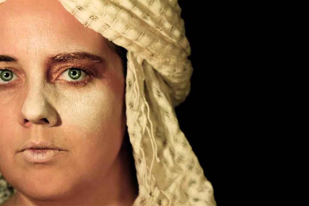 Makeup test -- Self Portrait