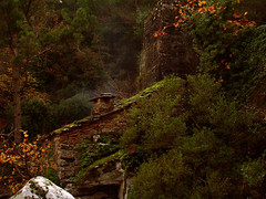 Enchanted Watermill (angeloska) Tags: architecture ikaria aegean canyon greece blogged watermill   rahes charakas horizontalwaterwheel