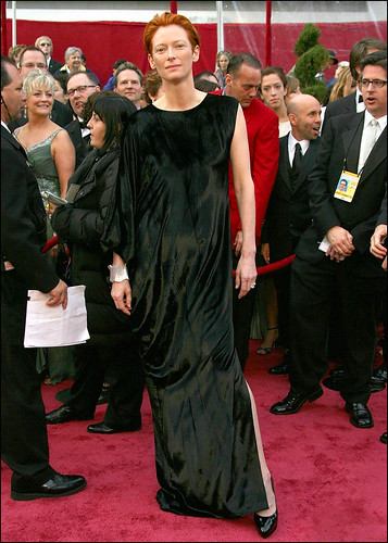 Tilda Swinton On the Red Carpet
